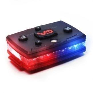 wearable police light bar